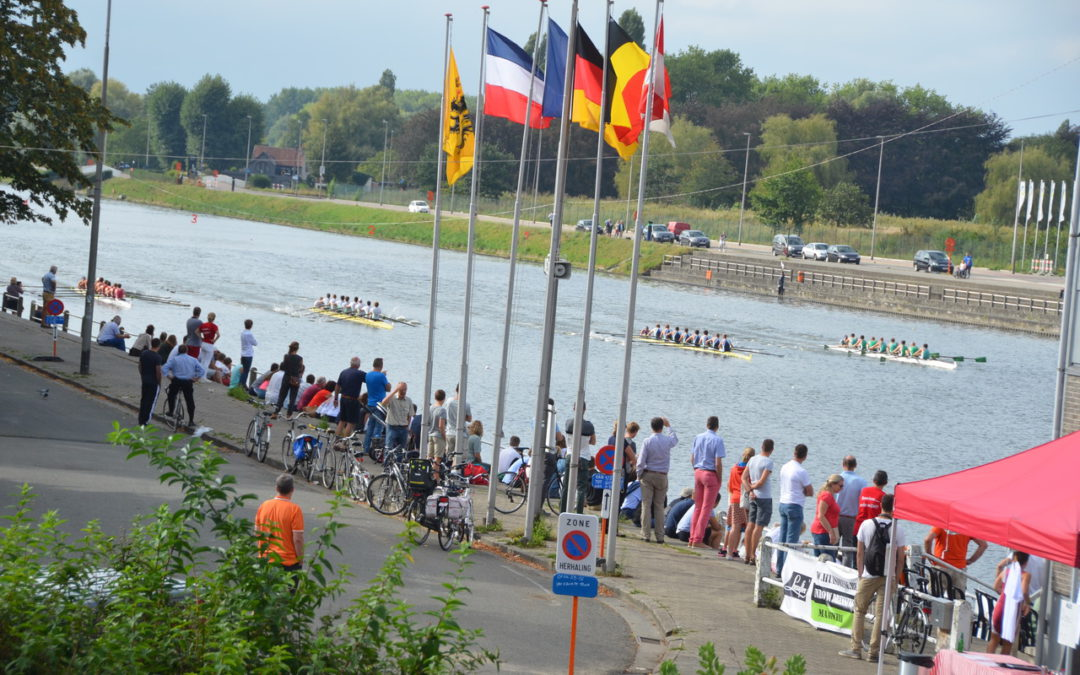 121ste  Internationale Regatta, 27ste Belgian Open Sprintcup &  118de  Drieluik van Club Gent Watersportbaan Gent –  9 & 10 september 2017
