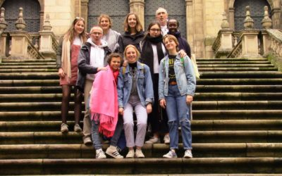 Junior-Dames op stage in Laias – Portugal