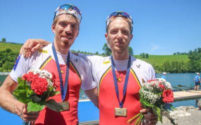 Prachtige bronzen medaille op EK!!