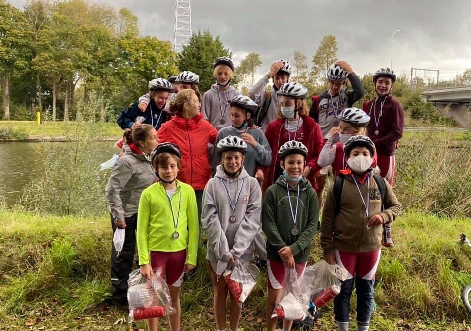 Clubsucces op Jeugdduathlon KRB Brugge 3 oktober 2020